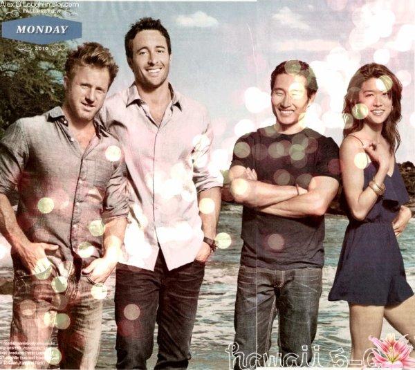 Le casting de Hawaii 5-0 élu le plus sexy casting de la télévision avec 50% des votes, les autres candidats étaient: Chuck qui lui a obtenu 46% des votes, Nikita lui en a obtenu 4% et Jersey Shore aucuns. Hawaii 5-0 nous prouve encore une fois sa popularité auprès du public. Sondage réalisé par le site tvedge