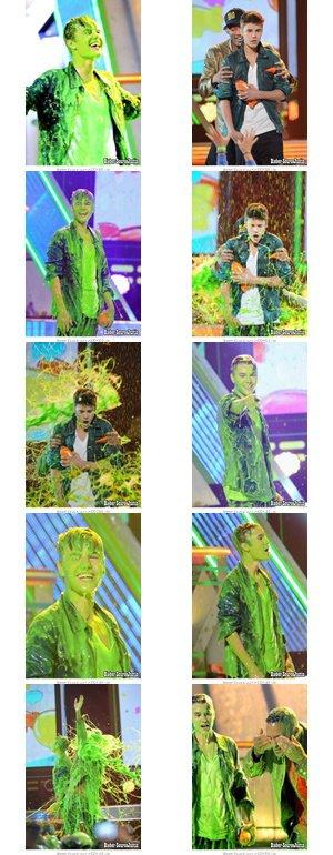 Justin Bieber a été présent aux Kids Choice Award's !