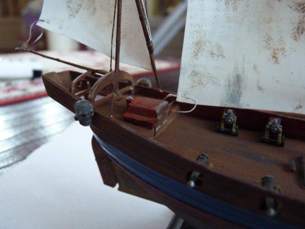 Maquette bateau 1/150 heller