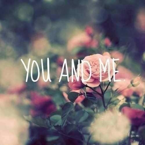 Toi et moi.♥