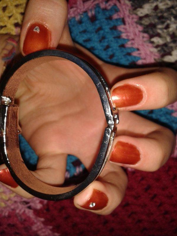 Nail Art 5 : Oranger rouge