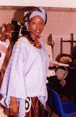 woury diabira, miss soninké 2004 - Kadjidia Soumaré (en photo) est