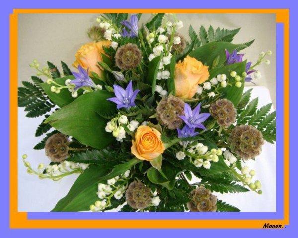 quelque fleurs pour mes amies !