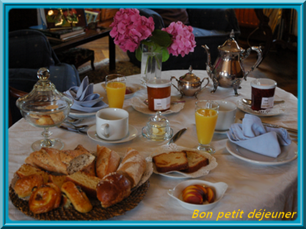 ben oui le petit déjeuner est tres important !!!