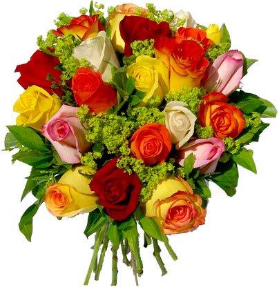 les fleurs du coeur bisous !