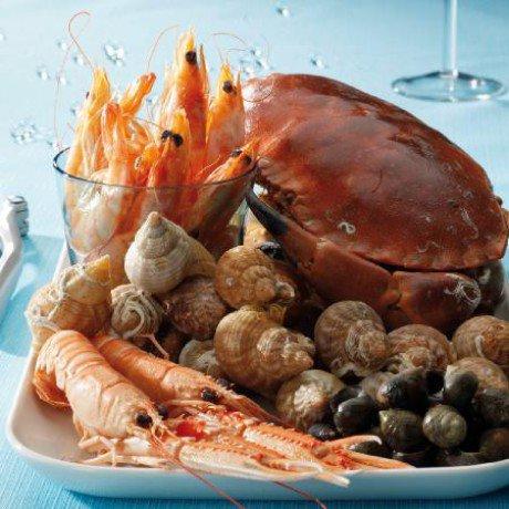 huuummmm !!! trop bon des fruits de mer !