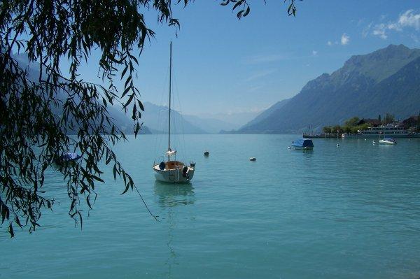 Le calme, juste cette immense étendue d'eau devant moi, silencieuse. Personne.