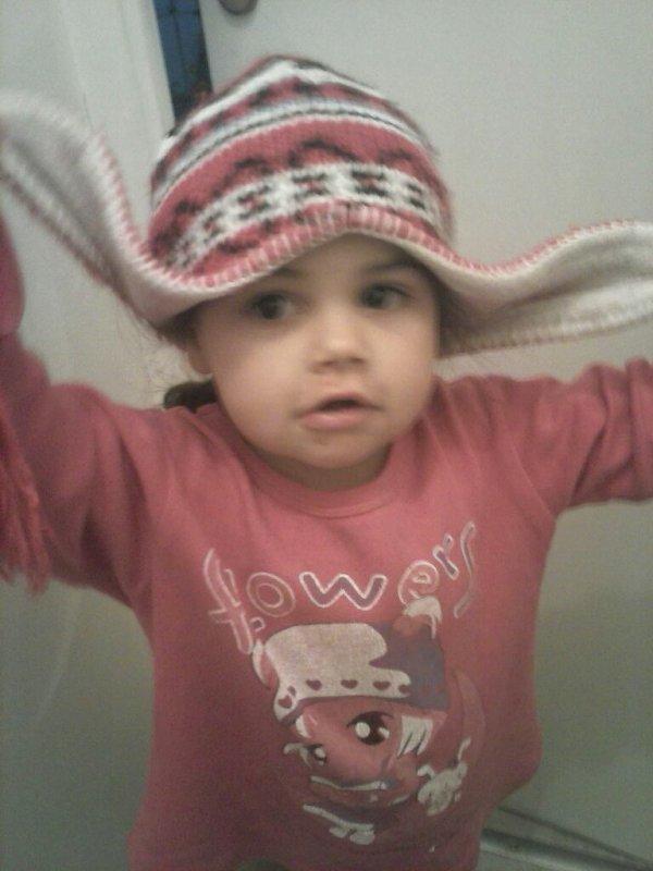 Ma fille chaïyma en mode dlr