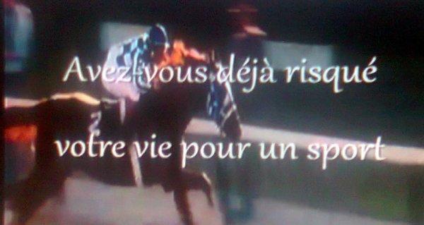 L'équitation, avez-vous déjà risqué votre pour un sport!