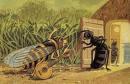 La cigale et la fourmi  fable de Jean de La Fontaine revisité par moi !!