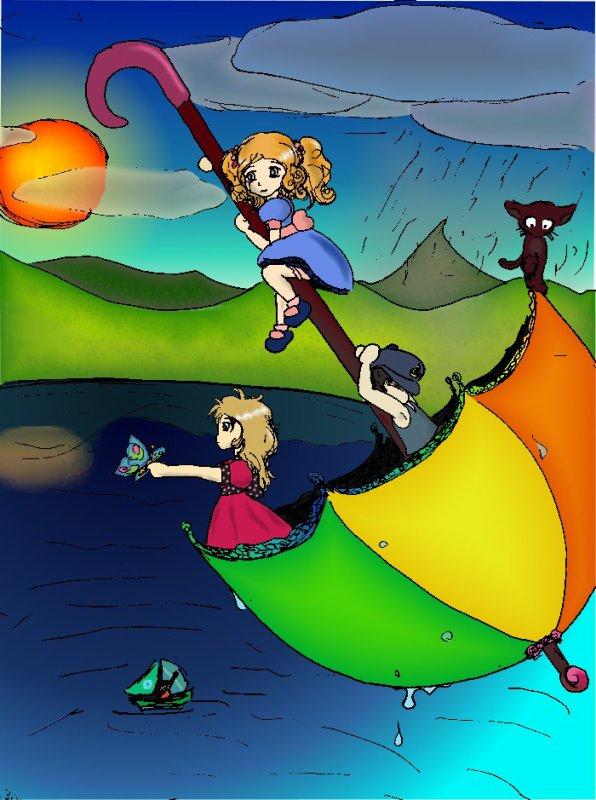 ~ Voyage en parapluie ~