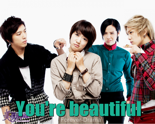k-drama You're Beautiful ♥