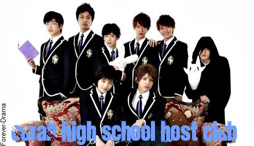 J-mini Drama Ouran High school Host Debut ♥