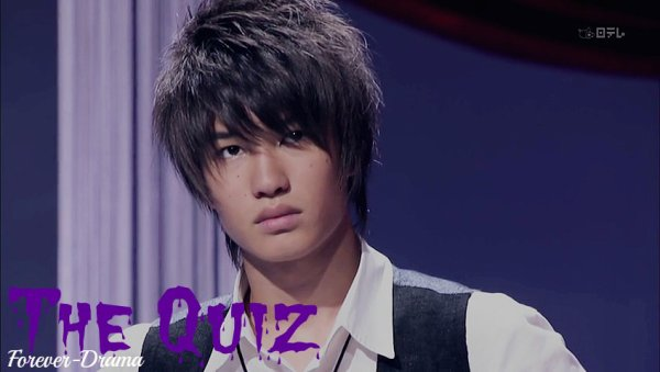 J-drama The Quiz ♥