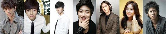 K-drama Shut up ! flower boy band ♥