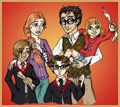 ~Fiction de HP-new-generation-em ~