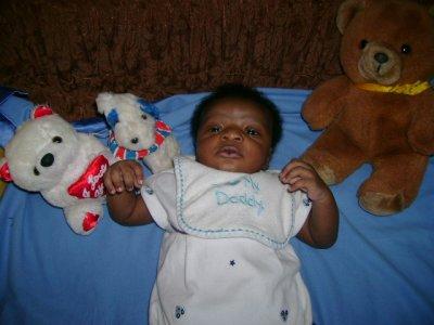 Bébé Marc à un mois et 10 jours