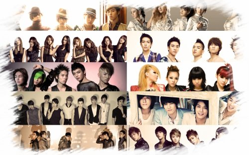 Groupe Girls Band,Boys Band Kpop et artiste solo