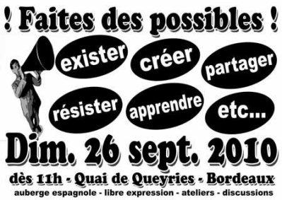 Faites des Possibles dimanche 26 septembre !