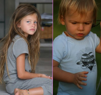 Thylane & Ayrton Blondeau - BabYs Star