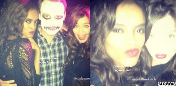 le 28 octobre 2012 - Eleanor à posté quelques photos d'elle déguisée pour Halloween sur Instagram.