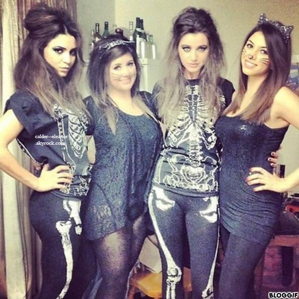 le 31 octobre 2012 - eleanor et ses amis fete halloween