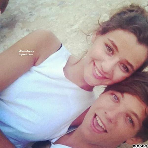 eleanora tweeter cette photo sur son twitter avec louis