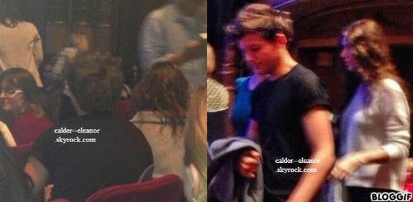 2.12.12: louanor allant au theatre de NEW YORK