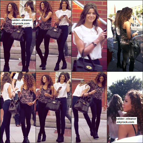 FLASHBACK- le 31 mars 2012 - Eleanor et Danielle se rendaient aux Kids Choice Awards