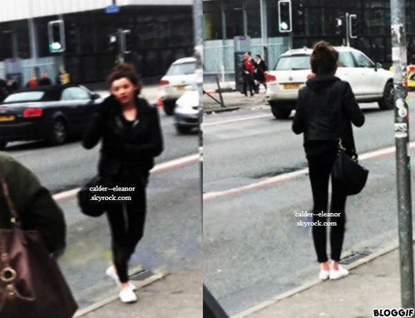 le 17 janvier 2013 - eleanor se promenait dans londres