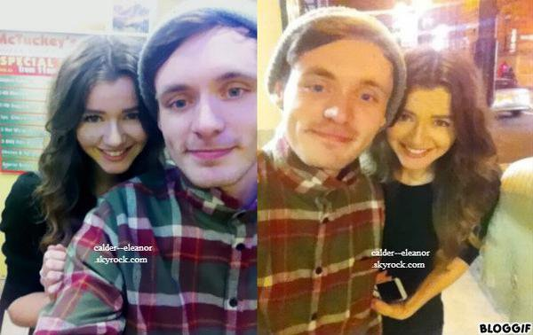 le 5 février 2013 - Eleanor avec un ami
