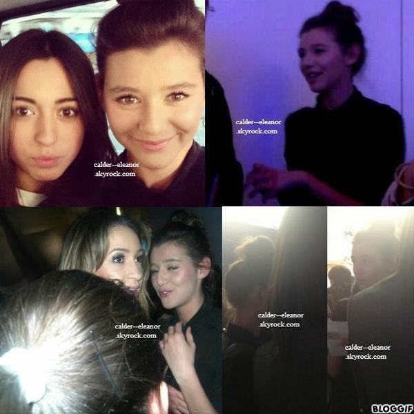 le 3 avril 2013 - Eleanor dans une boutique de vêtement à Londres