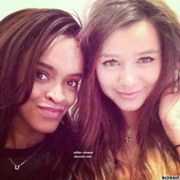 une nouvelle photo de eleanor avec une de ses amis poster sur instagram
