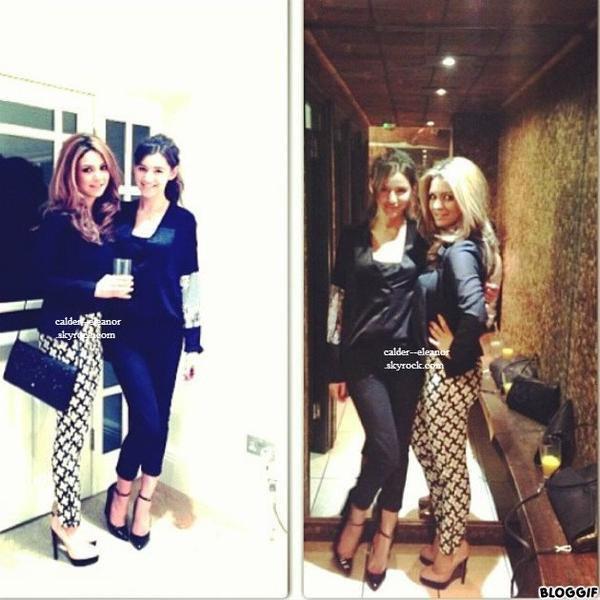 Eleanor et une amis a une fete