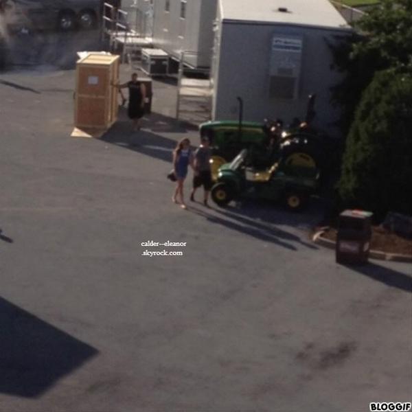 le 6 juillet 2013 - eleanor et louis à l'aréna de Hershey