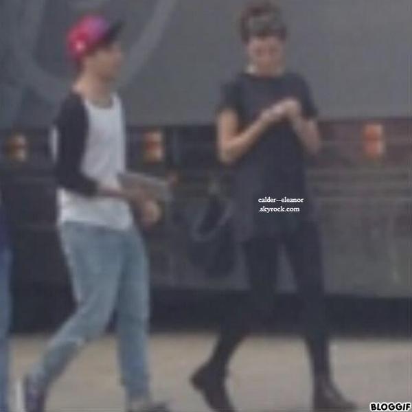 le 12 juillet 2013 - Eleanor et louis en dehors l arena de Détroit, Michigan