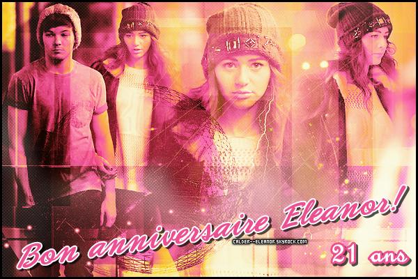 le 16 juillet 2013 -,Eleanor Calders fete ses 21 ans