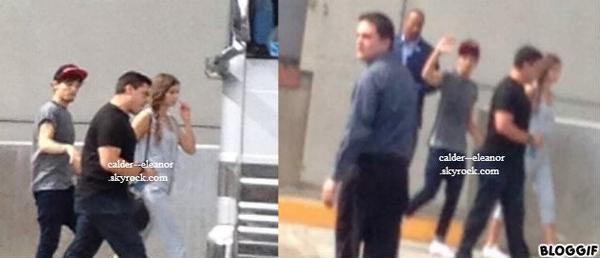 le 2 aout 2013 - Louanor en dehors de l'hôtel à Las Vegas