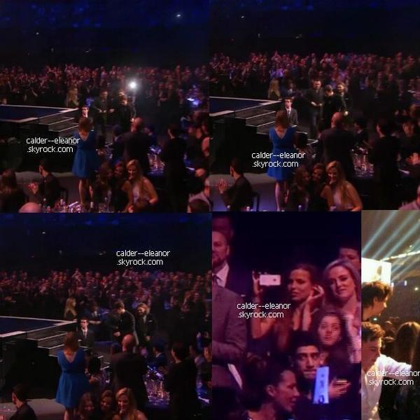 le 19 février 2014 - Eleanor gemma et sophia aux Brit Awards 2014