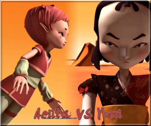 Yumi Vs Aelita