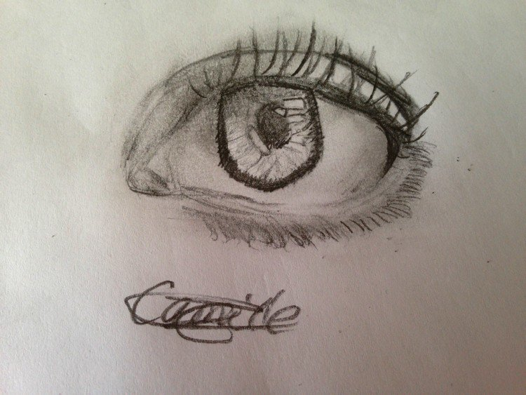 Dessin Réaliste Oeil
