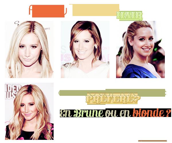 ♦ Ashley tisdale hair ♦