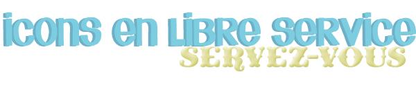 ♦ icons libre service ♦