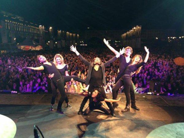 Liège XXXXL !!!!!!!! Merci !!! RDV à LA LOUVIERE ce soir pour la dernière de la tournée ! xxx