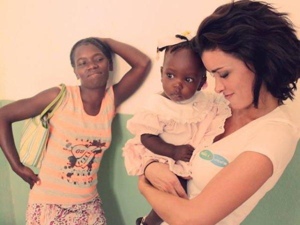 Haïti, Zone St-Marc.  Visite d'une maternité soutenue par le programme #PampersUnicef... Et rencontres émouvantes ! xxx