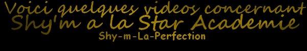 "Star Academy 9 : Mathilde chante ""Et alors !"" avec Shy'm"