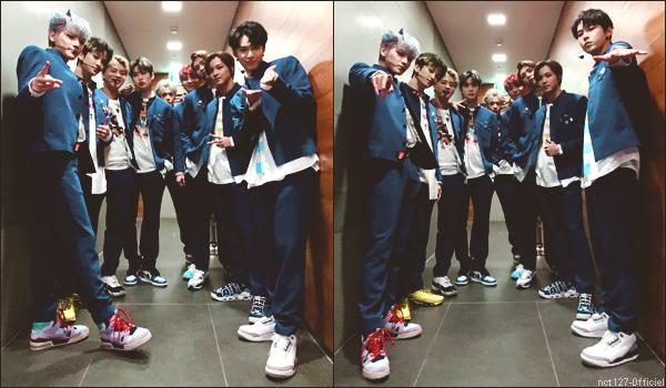 """.07/03/20. Les garçons se sont produit chez """"MBCkpop"""", en chantant """"Kick It"""""""