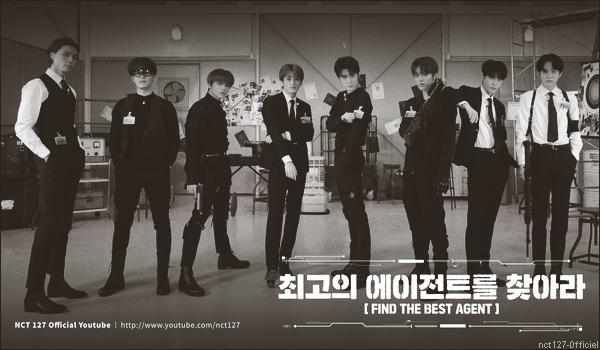 """.15/01/21. La chaîne YouTube """"NCT 127"""" a postée de nouvelles vidéos Les garçons (sauf Taeyong) ont joué à """"Find the Best Agent"""", en réalisant des activités et des jeux divers"""