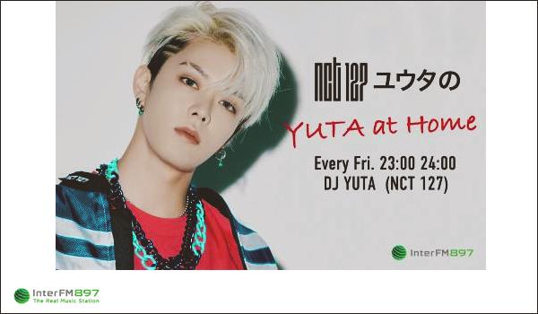 """.05/02/21. Yuta est désormais animateur sur la radio """"Inter FM 897"""", son émission s'appelle """"Yuta at Home"""" Il interviendra tous les vendredis, de 23 heures à minuit ; ça sera exclusivement en japonais"""