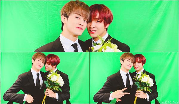 """.31/01/21. La chaîne YouTube """"NCT"""" a postée une nouvelle vidéo Il s'agit des """"🏆 Mark Awards"""" dans laquelle Mark remet un award à chaque membres de NCT"""
